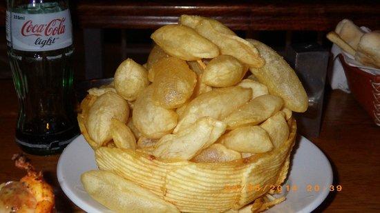 Puerto Madero Cancun: Souffle Potatoes