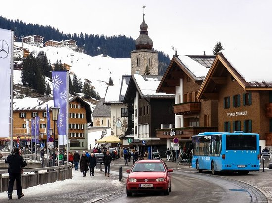 Hotel Arlberg Lech: The village of Lech
