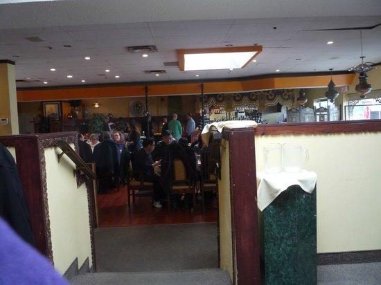 Haveli Restaurant : inside
