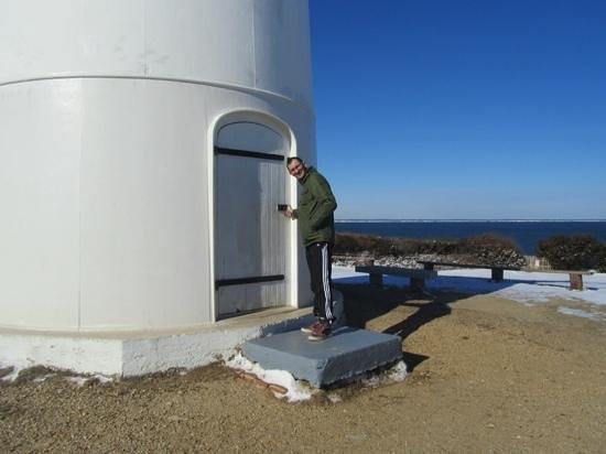 Edgartown Lighthouse : lighthouse keeper