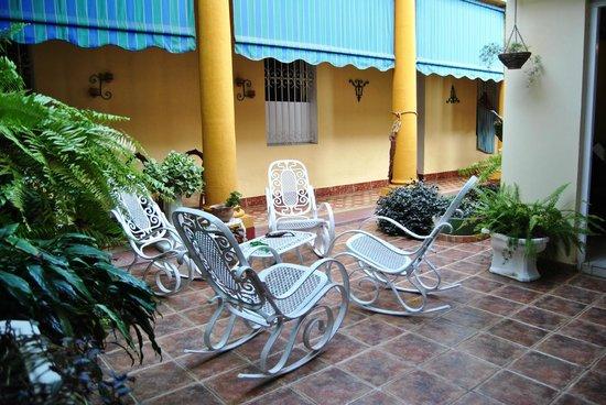 Casa Leticia: patio