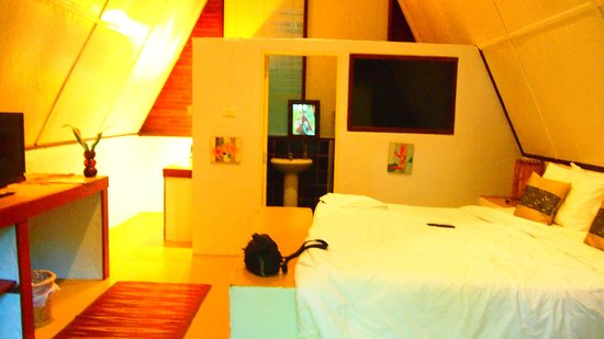 Milky Bay Resort : Very comfortable bed!