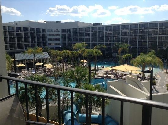 Sheraton Lake Buena Vista Resort: view from Block 3