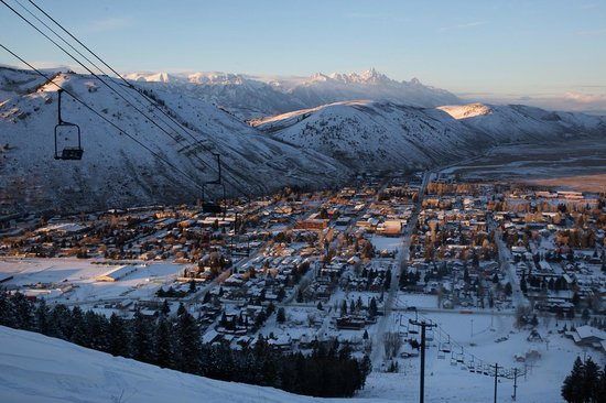 Snow King Resort: View of Town