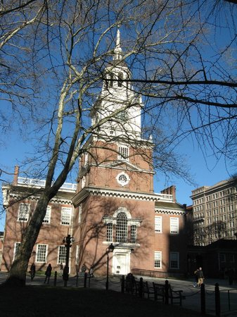 Independence Visitor Center: independence hall