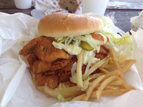 Bantam Chef: Whole lot o fish going on.