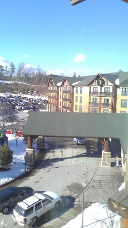 Six Flags Great Escape Lodge & Indoor Waterpark: another view from our room