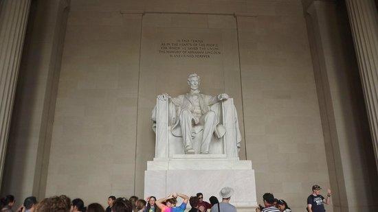 Lincoln Memorial: La foto parla da se!