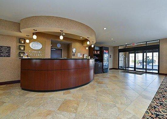 Holiday Inn Express & Suites Mobile West - I-65: Front Desk