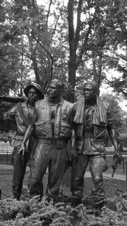 Monumento a los veteranos de la Guerra de Korea: Particolare