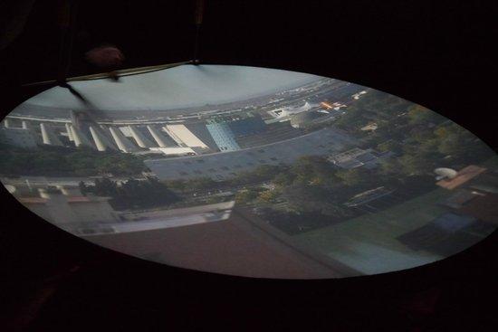 Cámara Oscura: Tela de projeção