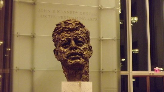 John F. Kennedy Center for the Performing Arts: La testa di Kennedy O_o