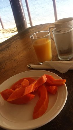 Bounty Island Resort : Breakfast