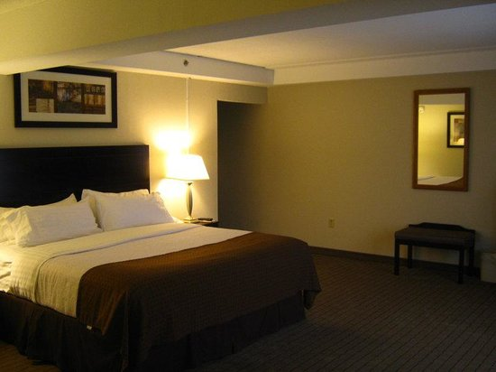 Holiday Inn Berkshires: King Room with a Walk-In Shower