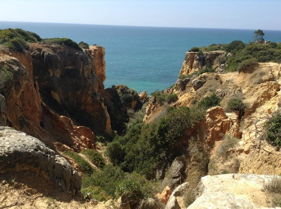Praia da Coelha: On Top of the Cliff Pathway