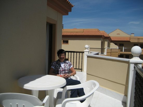 Suite Hotel Elba Castillo San Jorge & Antigua : Balcony