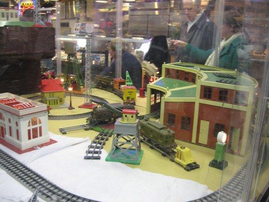 Christmas display at Reading Terminal Market