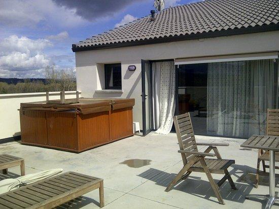 El Hotelito: Terraza Junior Suite