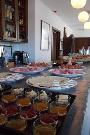 El Hotelito: Desayuno