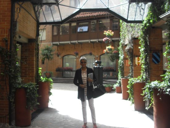 Hotel Estelar La Fontana: De vuelta al hotel!