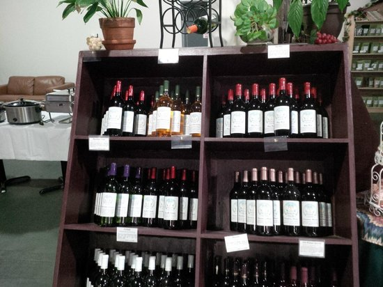 Unicorn Wine Guild: One of our wine displays