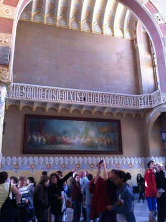 Recinte Modernista de Sant Pau: 内装1