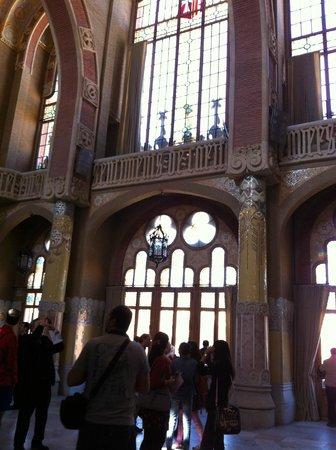 Recinte Modernista de Sant Pau: 内装2
