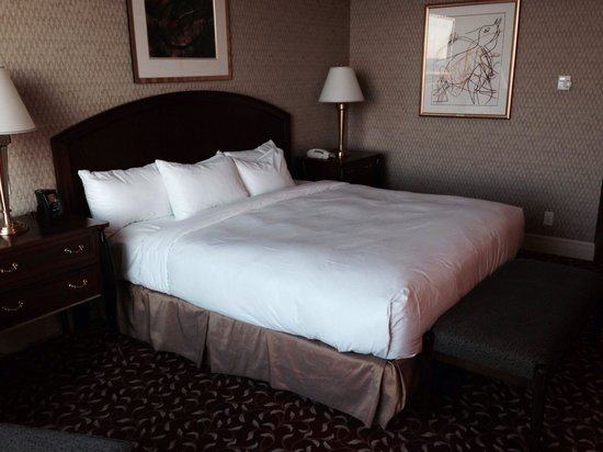 Hilton Lac-Leamy: Bed was comfortable