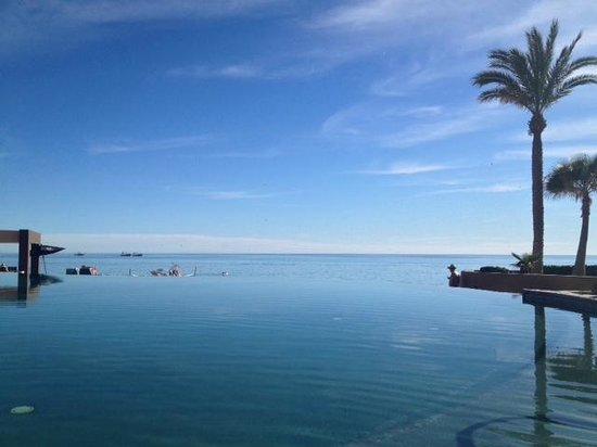 Las Palomas Beach & Golf Resort: View from the infinity pool