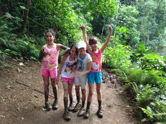 Kayak Wailua : Triplets forever, mud rats or not...
