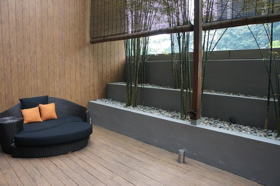Klapstar Boutique Hotel: Outdoor area