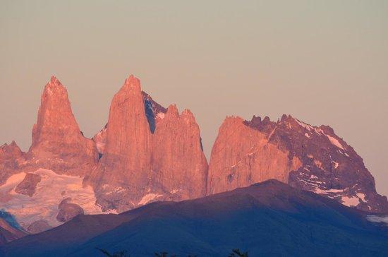 Awasi Patagonia - Relais & Chateaux: Vista desde la cabaña