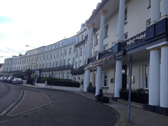 The Crown Spa Hotel: Hotel front