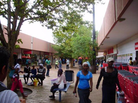 Mbabane Market: area de alimentação