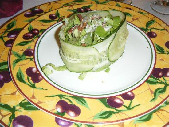 Hotel Playa Coco : ceaser salad