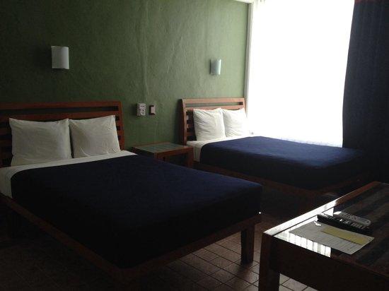 Hotel Soberanis Cancun : Cómodas y a precio razonable.