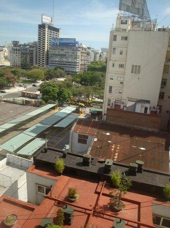El Conquistador Hotel: Vista do hotel - quarto dos fundos
