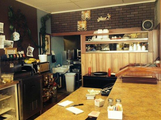 Alma's Kouzine: Alma's Counter Kitchen View