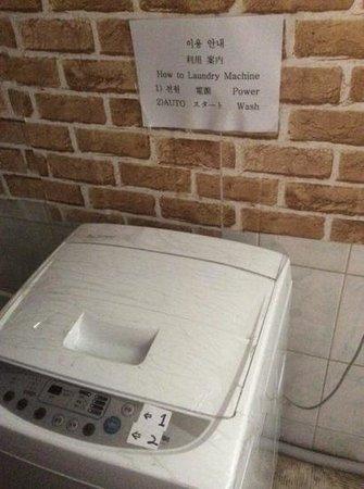 Hotel Angel: waschmaschine