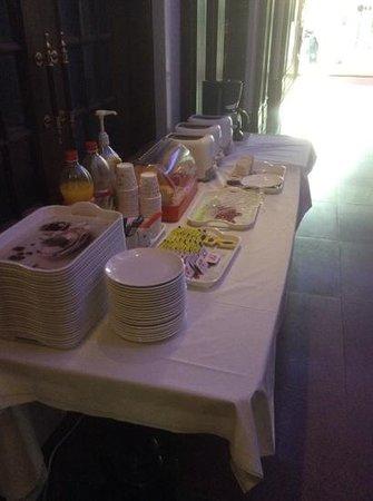 Hotel Angel: fruehstuecksbuffet