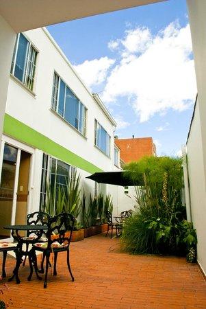 Nuevo Hotel Rincon de Santa Barbara: vista  habitaciones