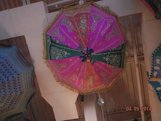 Cafe Spice/Indian Cuisine : our umbrella