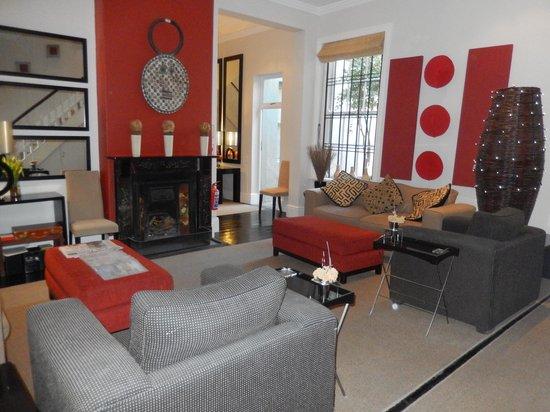 An African Villa: Game room