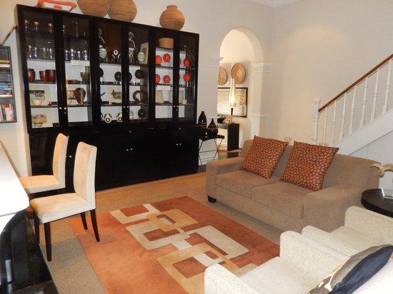 An African Villa: Living room