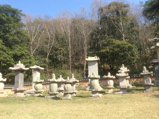 Mihwangsa Temple: friedhof