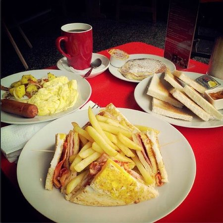 Patricia Arte & Cafe: Desayunos todo el día.