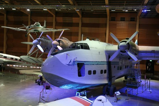 Museum of Transport and Technology: Solent flying boat