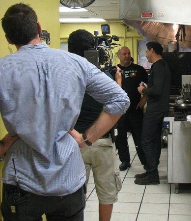 Tedesco's : Filming with Rocco DiSpirito