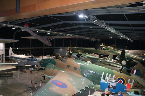 Museum of Transport and Technology: Some of the aircraft.