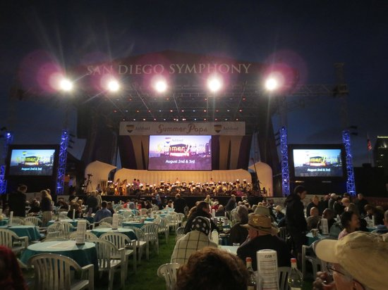 San Diego Symphony: Balmy SD Evening at Summer Pops